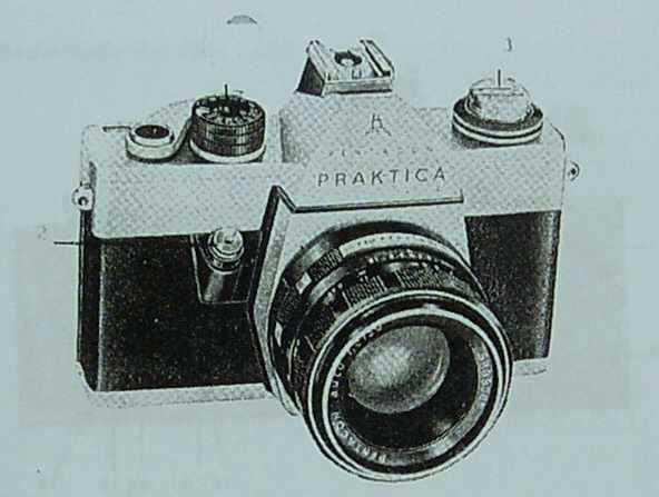 Body case praktica l vintage german m slr camera made by