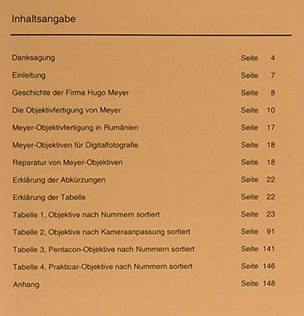 ef5bb8796053 Meyer Optik   Hartmut Thiele Kleines Fabrikationsbuch Meyer-Optik ...